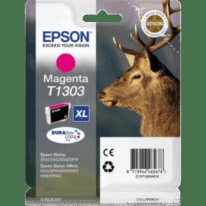 Tinteiro EPSON T1303 XL Magenta - C13T13034010