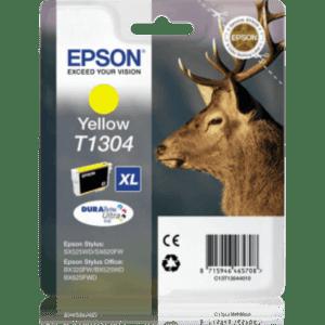 Tinteiro EPSON T1304 XL Amarelo - C13T13044010
