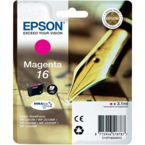 Tinteiro EPSON T1623 Magenta - C13T16234020
