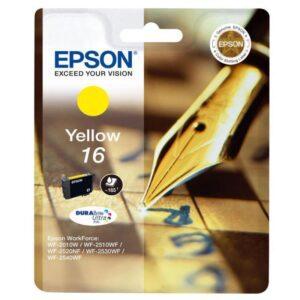Tinteiro EPSON T1624 Amarelo - C13T16244020