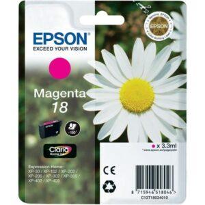Tinteiro EPSON T1803 Magenta - C13T18034010
