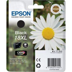 Tinteiro EPSON T1811 XL Preto - C13T18114010