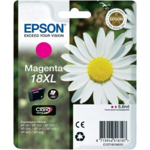 Tinteiro EPSON T1813 XL Magenta - C13T18134010