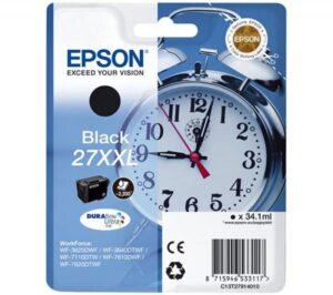 Tinteiro EPSON T2791 (27XXL) Preto - C13T27914010