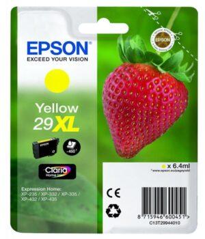 Tinteiro EPSON 29XL T2994 Amarelo - C13T29944020