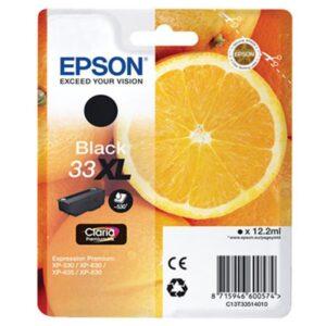 Tinteiro EPSON T3351 (33XL) Preto - C13T33514022