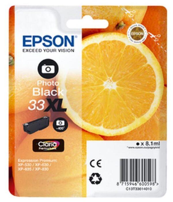 Tinteiro EPSON T3361 Preto Photo - C13T33614010