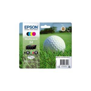 Tinteiro EPSON T3466 (34) BK/C/M/Y Multipack - C13T34664010