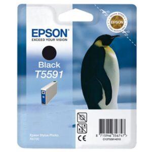 Tinteiro EPSON T5591 Preto - C13T559140