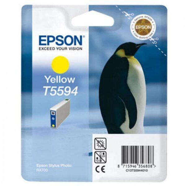 Tinteiro EPSON T5594 Amarelo - C13T559440
