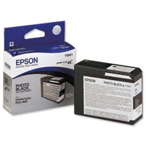 Tinteiro EPSON T5801 Photo Preto - C13T580100
