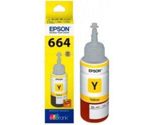 Tinteiro EPSON T6644 Ecotank Amarelo - C13T664440