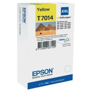 Tinteiro EPSON T7014 XXL Amarelo - C13T70144010