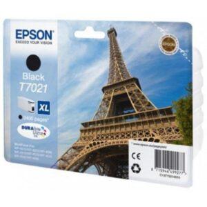 Tinteiro EPSON T7021 Preto Alta Capacidade - C13T70214010