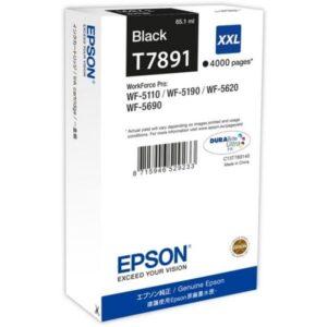 TINTEIRO EPSON T7891 XXL Preto - C13T789140