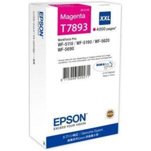 TINTEIRO EPSON T7893 XXL Magenta - C13T789340