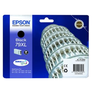 Tinteiro EPSON T7901 XL Preto - C13T79014010
