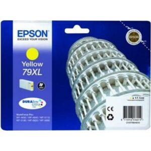 Tinteiro EPSON T7904 XL Amarelo - C13T79044010