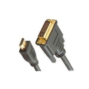 Cabo EQUIP HDMI/DVI 18+1 Macho/Macho 3m Gold - 119323