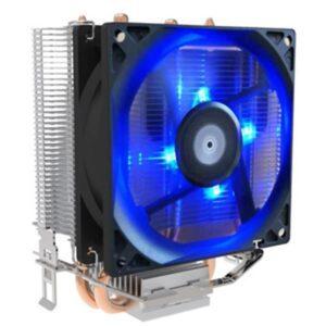 Cooler EUROTECH ICE 250 Fan 90mm PWM Blue Led