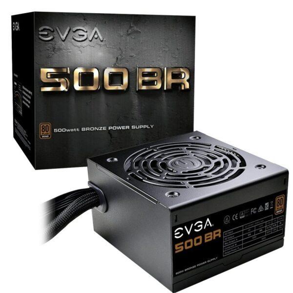 Fonte de Alimentação EVGA 500 BR 500W 80 Plus Bronze