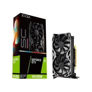 Placa Gráfica EVGA GeForce GTX1660 SUPER SC ULTRA GAMING 6GB DDR6