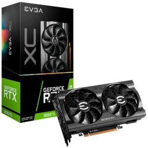 Placa Gráfica EVGA GeForce RTX3060 TI XC GAMING 8GB DDR6 LHR