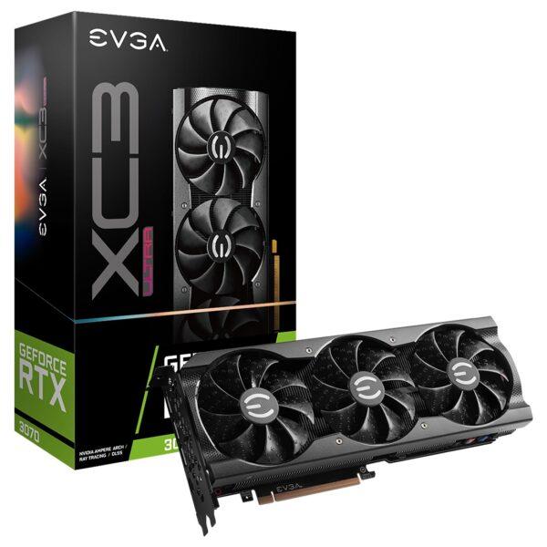 Placa Gráfica EVGA GeForce RTX3070 XC3 ULTRA GAMING 8GB DDR6
