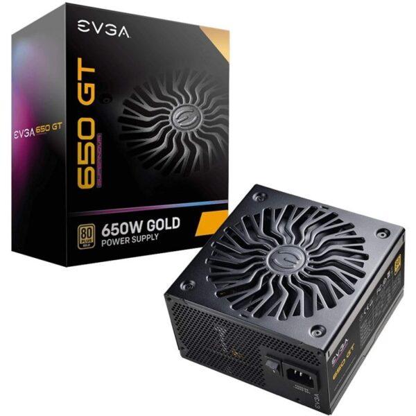 Fonte de Alimentação EVGA SuperNova GT 650W 80 Plus Gold Full Modular