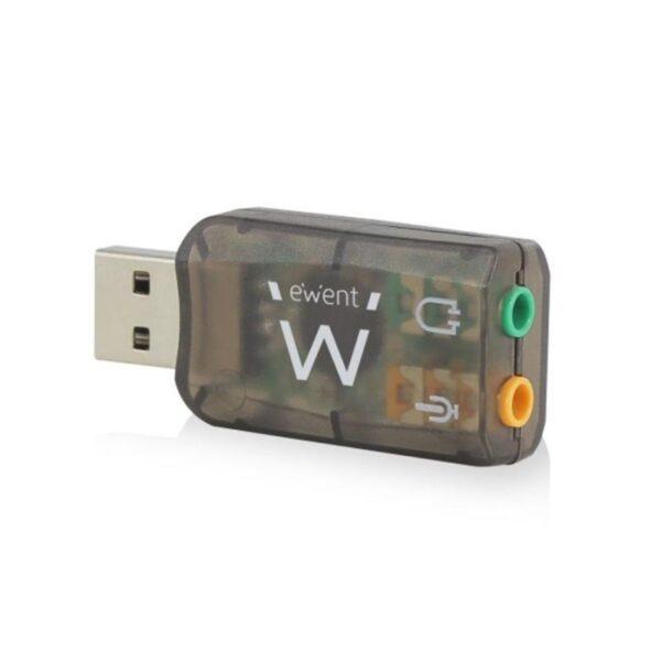 Placa de Som EWENT 5.1 USB - EW3751
