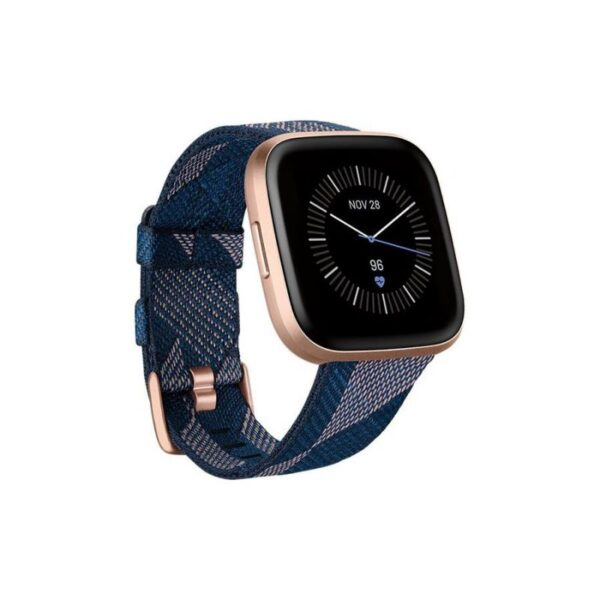 Smartwatch FITBIT Versa 2 Special Edition Navy & Pink Woven