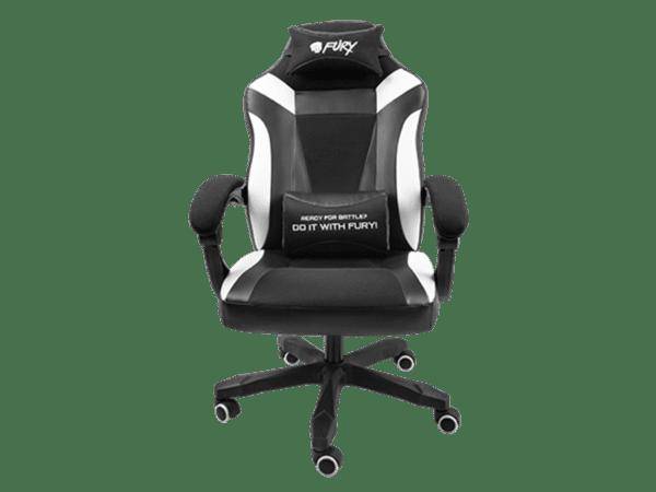 Cadeira FURY Avenger M+ Gaming Preto/Branco
