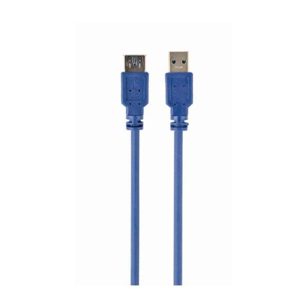 Cabo GEMBIRD USB 3.0 Tipo A/A Macho/Fêmea 3m