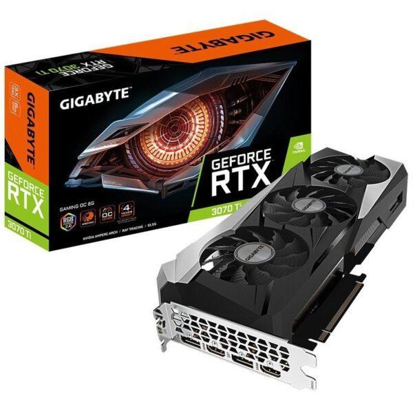 Placa Gráfica GIGABYTE GeForce RTX 3070 TI GAMING 8G GDDR6X OC