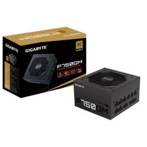 Fonte de Alimentação GIGABYTE P750GM 750W 80 Plus Gold Modul
