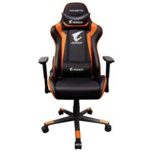 Cadeira GIGABYTE AORUS Gaming AGC300 Preto/Laranja