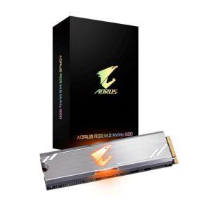 SSD GIGABYTE AORUS RGB 256GB M.2 NVMe PCI-e 3.0