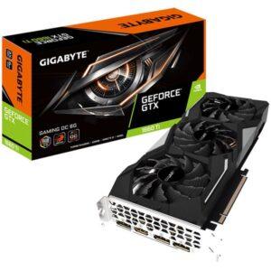PLACA GRÁFICA GIGABYTE GeForce GTX1660 TI GAMING 6GB OC