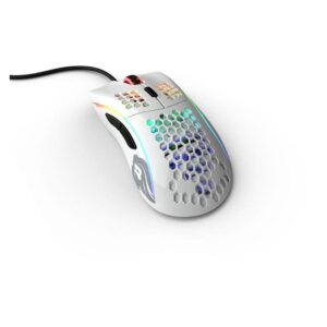 Rato GLORIOUS PC Gaming Model D Glossy Branco