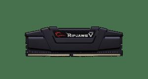 Memoria G.SKILL 32GB DDR4 2666MHz CL18 Ripjaws V Black