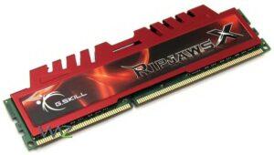 MEMÓRIA G.SKILL 8GB DDR3 1600MHz CL10 Ripjaws X PC12800