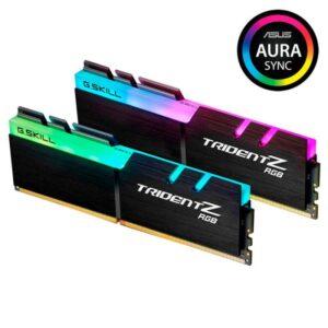 MEMÓRIAS G.SKILL KIT 16GB 2X8GB DDR4 3200MHz Trident Z RGB