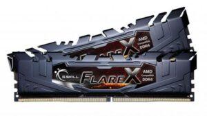 Memória G.SKILL KIT 2X8GB DDR4 3200MHz CL14 FlareX Black