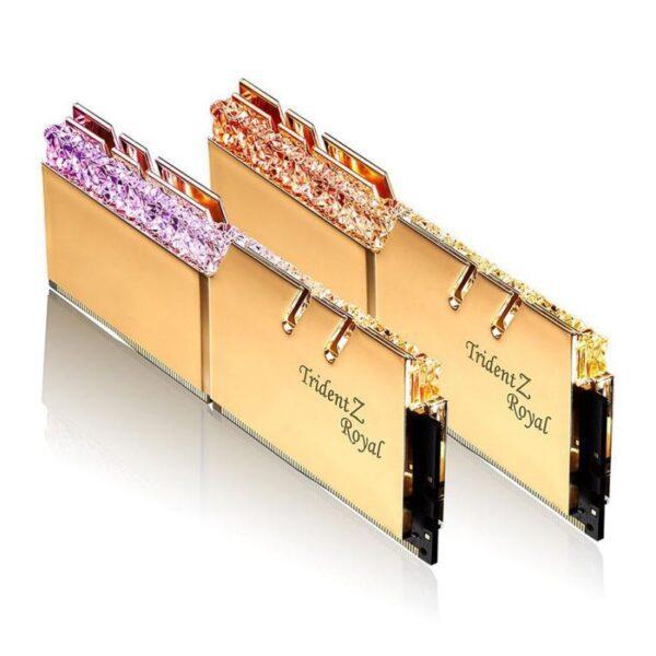 Memória G.SKILL 32GB 2X16GB DDR4 3200MHz CL16 Trident Z Gold