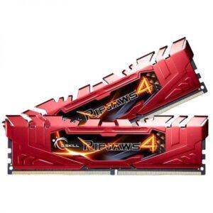 MEMÓRIA G.SKILL KIT 8GB 2X4GB DDR4 2400MHz CL15 Ripjaws