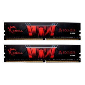 Memória G.SKILL KIT 16GB 2X8GB DDR4 2400MHz CL15 AEGIS