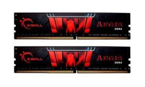 MEMÓRIA G.SKILL KIT 16GB 2X8GB DDR4 3000MHz CL16 AEGIS