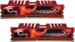 MEMÓRIA G.SKILL KIT 16GB 2X8GB DDR3 1866MHz CL10 Ripjaws X