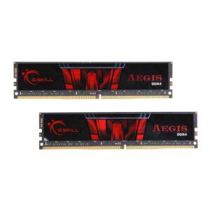 MEMÓRIA G.SKILL KIT 32GB 2X16GB DDR4 3000MHz CL16 AEGIS