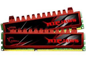 MEMÓRIA G.SKILL KIT 8GB 2X4GB DDR3 1600MHz CL9 Ripjaws X PC1